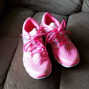 Adidas hot pink climacool sneakers sz6